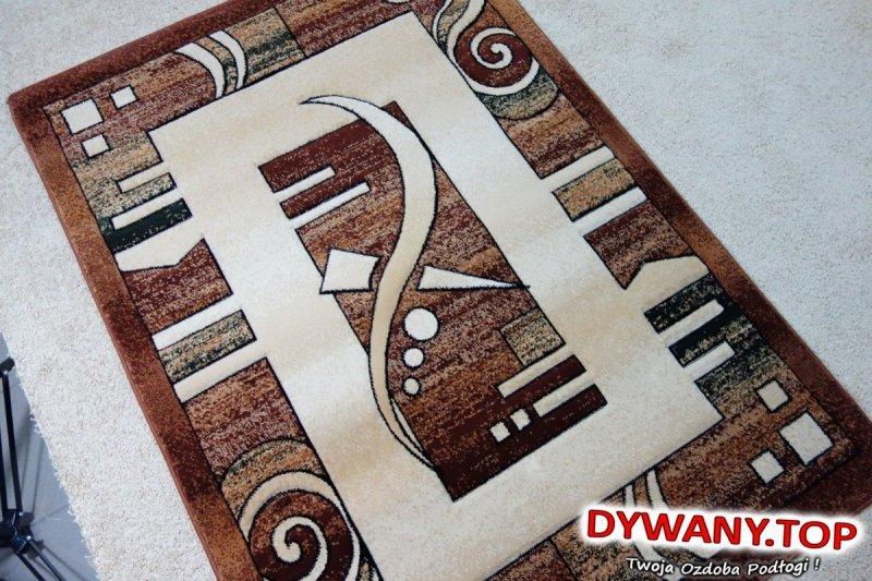 LEA festival ivory / brown 120x170