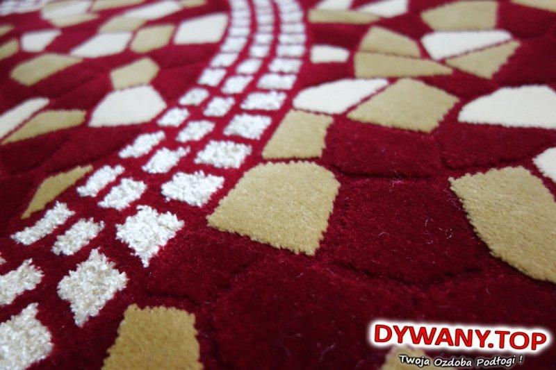 CRYSTAL BRD/RED czerwony 160x220