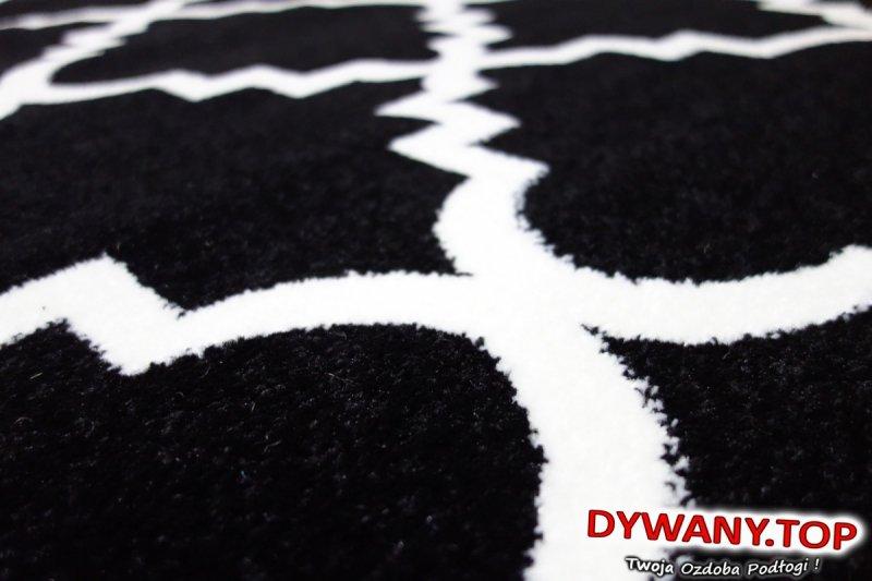 SKETCH BLACK /CREAM koniczynka czarny