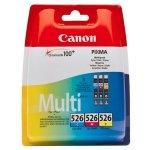 Canon oryginalny ink CLI526 CMY, cyan/magenta/yellow, 340s, 3x9ml, 4541B009, 4541B006, Canon Pixma  MG5150, MG5250, MG6150, MG81