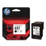 HP oryginalny ink C2P10AE, HP 651, black, 600s, HP DeskJet IA 5645, 5575, Officejet 202, 252 Mobile