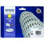 Oryginalny, kompatybilny Tusz Epson T79  do   WP-5110/5190/5620/5690 | 7 ml |   yellow
