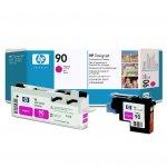 Oryginalny, kompatybilny Głowica + głowica czyszcząca HP 90 do Designjet 4000/4020/4500/4520   magenta