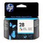 Tusz HP 28 do Deskjet 3325/3420, PSC 12151216 | 240 str. | CMY