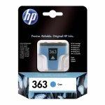 Oryginalny, kompatybilny Tusz HP 363 Vivera do Photosmart 3210/3310/8250 | 400 str. | cyan