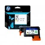 Głowica HP 72 Vivera do Designjet T610/1100/1200/1300 | matte black + yellow