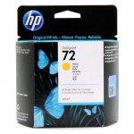 Tusz HP 72 Vivera do Designjet T610/1100/1200/1300   69ml   yellow