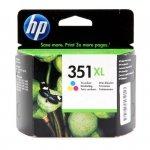 Tusz HP 351XL Vivera do Deskjet D4260/4360, Officejet J5780 | 580 str. | CMY