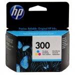 Tusz HP 300 do Deskjet D1660/2560/2660/5560, F2480/4280 | 165 str. | CMY