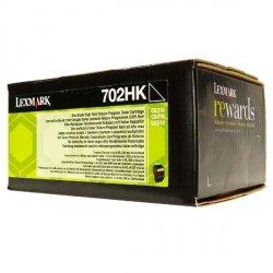 Lexmark oryginalny toner 70C2HK0, black, 4000s, return, high capacity, Lexmark CS510de, CS410dn, CS310dn, CS310n, CS410n