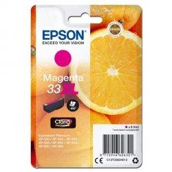 Epson oryginalny ink C13T33634012, T33XL, magenta, 8,9ml, Epson Expression Home a Premium XP-530,630,635,830