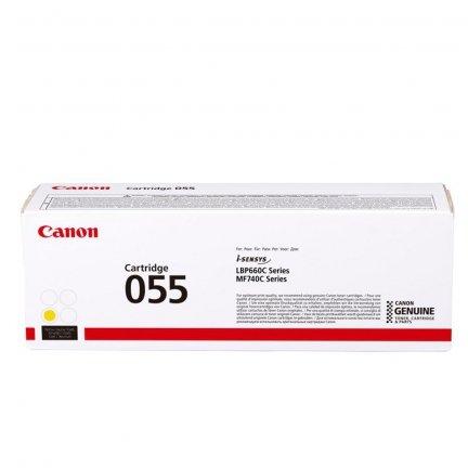 Toner Canon CRG055Y do i-SENSYS MF742Cdw/MF744Cdw   2100 str.   Yellow