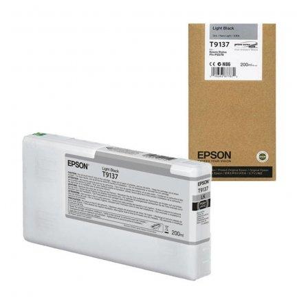 Tusz Epson T9137 do Sure Color SC-P5000 | 200 ml | Light black