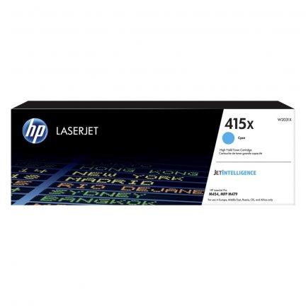 Toner HP 415X do Color LaserJet Pro M454, MFP M479 | 6 000 str. | cyan