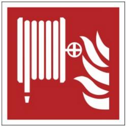 Znak hydrant wewnętrzny F02 (PZ)