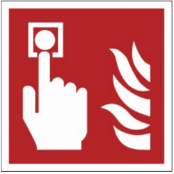 Znak alarm pożarowy F05 (PF)