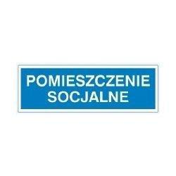 Znak POMIESZCZENIE SOCJALNE 801-08 P.Z.