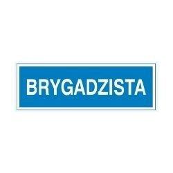 Znak BRYGADZISTA 801-63 F.Z.