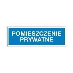 Znak POMIESZCZENIE PRYWATNE 801-90 P.Z.