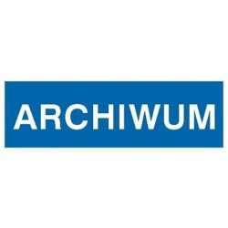 Znak ARCHIWUM 801-33 P.Z.