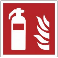 Znak gaśnica F01 (FF)