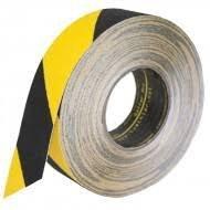 Taśma antypoślizgowa czarno żółta 18m/5cm