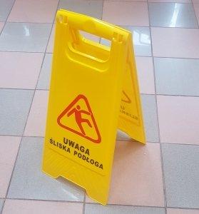 Potykacz - Uwaga śliska podłoga