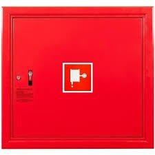 Hydrant wewnętrzny z wężem półsztywnym 25/20 zawieszany czerwony