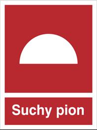 Znak Suchy pion 218 150X200 P.F.