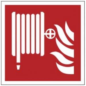 Znak hydrant wewnętrzny F02 (PZ) 150x150