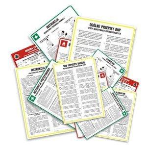 Instrukcja BHP dla pracowników zatrudnionych w magazynie 422-44