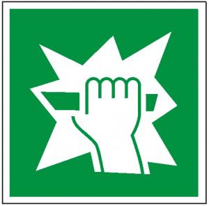 Znak stłuc aby uzyskać dostęp (P.F.)