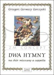 TRIANGIEL Gorczycki G. G. Dwa hymny na chór mieszany a cappella