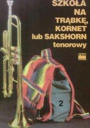 Lutak, Ludwik: Szkoła na trąbkę, kornet lub sakshorn tenorowy, z. 2