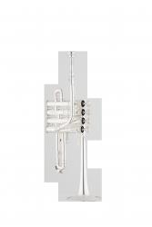 ANDREAS EASTMAN trąbka piccolo Bb/A ETR823S PROFESSIONAL, posrebrzana, z futerałem