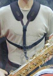NEOTECH szelki do saksofonu Super Harness, Regular, Swivel, black