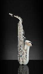 RAMPONE&CAZZANI saksofon altowy R1 JAZZ, 2006/J/AG, Vintage Silver