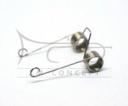 aS Sprężyny do wentyli obrotowych do trąbki /flugelhornu/althornu, 01593450