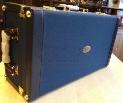 B&S futerał na 2 trąbki JTRC531 royal blue