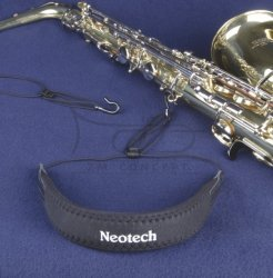 NEOTECH pasek do saksofonu Tux regular, black