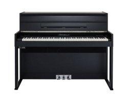 BLUETHNER pianino cyfrowe e2S Digital Piano, czarny połysk