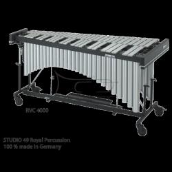 STUDIO49 WIBRAFON koncertowy, srebrny lakier, model RVC 4000/S, 4 oktawy, z futerałem