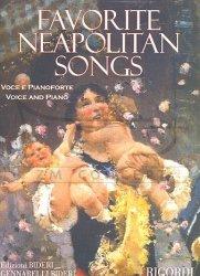 Favorite Neapolitan Songs na głos i pianoforte, 39 pieśni neapolitańskich