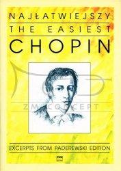 Chopin Fryderyk: Najłatwiejszy Chopin na fortepian