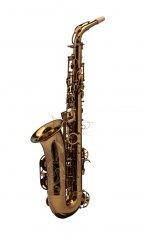 RAMPONE&CAZZANI saksofon altowy PERFORMANCE LINE, lakierowany - ciemny lakier klarowny, z futerałem GoBag