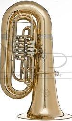 B&S tuba Bb Perantucci GR55G-2-0GB posrebrzana, 4 wentyle obrotowe, z futerałem gig bag