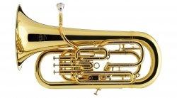 BESSON eufonium Bb Prestige BE2052-1G-0 kompensacyjne (3+1) lakierowane, z futerałem