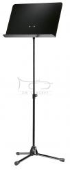 K&M 11818 (118/1) pulpit do nut KM, statyw metalowy czarny, płyta aluminiowa czarna