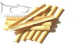 MARIGAUX drewno niefasonowane do stroików oboju 10S (10 szt.)