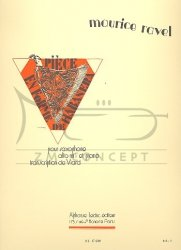 Ravel, Maurice Pièce en forme de Habanera: na saksofon altowy i fortepian